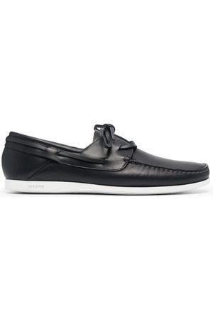 CAR SHOE Men Footwear - Polished-leather boat shoes