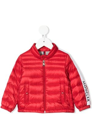 Moncler Logo-trim padded jacket