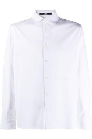 Karl Lagerfeld Jersey cotton shirt