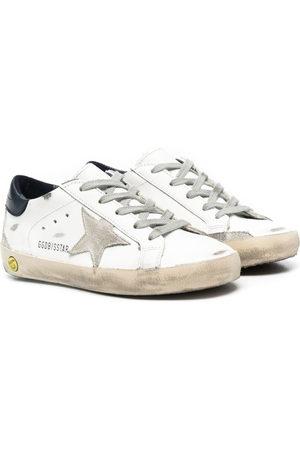 Golden Goose Boys Sneakers - Superstar distressed sneakers