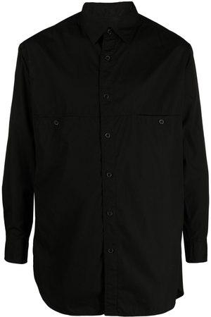 YOHJI YAMAMOTO Long-sleeve cotton shirt
