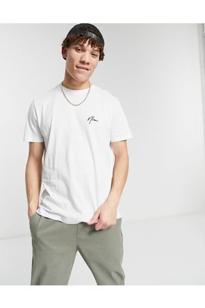 New Look T-shirt with embroidered NLM in