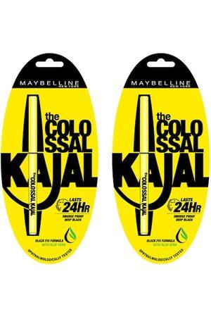 Maybelline Set of 2 Black Colossal Kajal 0.35 g