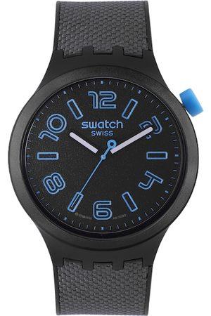 Swatch Men Watches - Men Black Analogue Watch SO27B118