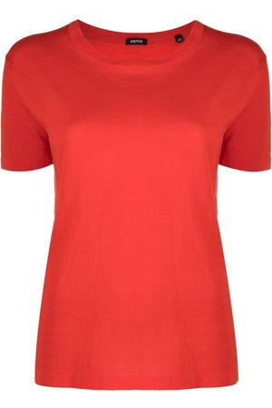 Aspesi Women Short Sleeve - Short-sleeved cotton T-shirt