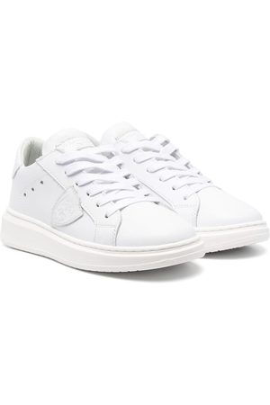 Philippe model Boys Sneakers - Logo-patch low-top sneakers