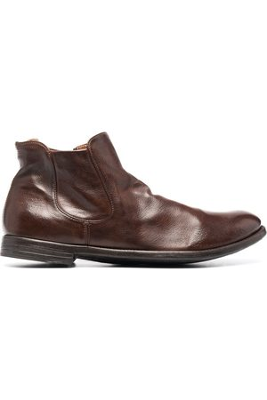 Officine creative Men Boots - Arc leather ankle boots