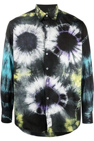 ARIES Tie-dye print shirt