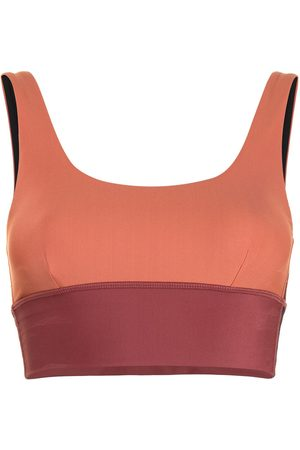 The Upside Murti Daisy two-tone sports bra