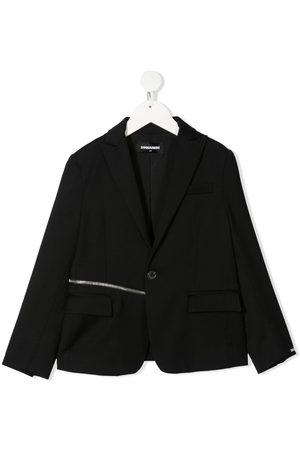 Dsquared2 Boys Blazers - Zip detail tailored blazer