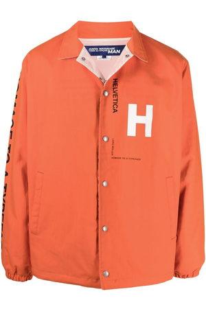 JUNYA WATANABE Men Shirts - Logo-detail shirt jacket