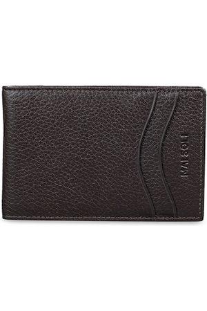 MAI SOLI Men Brown Textured Wallet