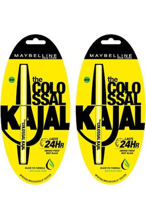 Maybelline Set of 2 Colossal Kajal 0.35 g