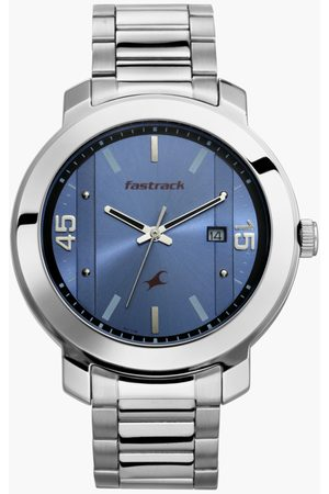 Fastrack Men Analog Watch with Metal Strap - 3246SM03