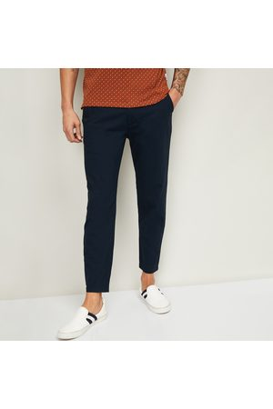 Bossini Men Solid Slim Tapered Chinos