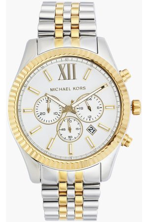 Michael Kors Men Chronograph Watch with Stainless Steel Strap - MK8344