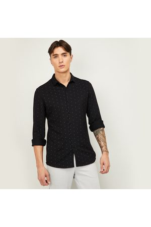 Code Men Printed Full Sleeves Casual Shirt