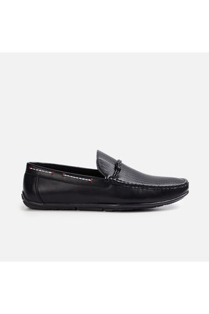 Code Men Textured Formal Slip-on Shoes
