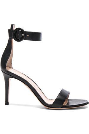 Gianvito Rossi Leather Portofino Heels in