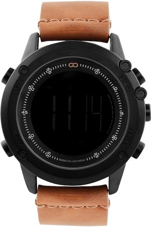 GIO COLLECTION Men Brown Digital Watch G3011-04