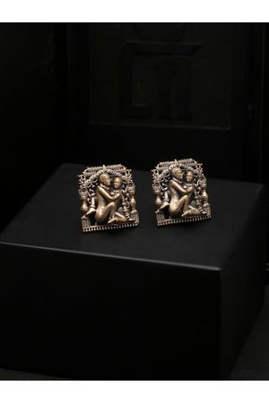 COSA NOSTRAA Gold-Toned The Khajuraho Love Cufflinks