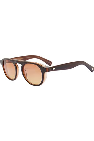 GARRETT LEIGHT Men Sunglasses - Harding 49 Amaro Laminate Sunglasses