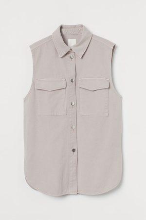 H&M Women Shirts - Sleeveless shirt jacket