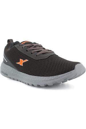 Sparx Men Grey & Orange Running Shoes