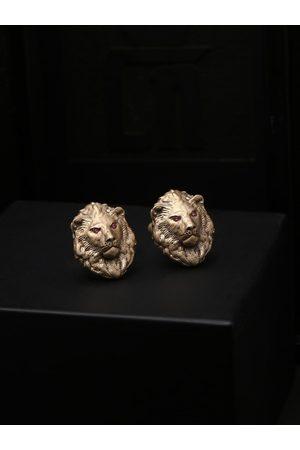 COSA NOSTRAA Bronze-Toned & Gold-Toned Quirky Cufflinks