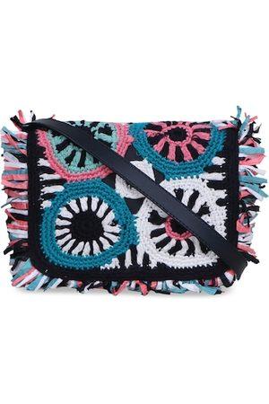Diwaah Multicoloured Self Design Tote Bag