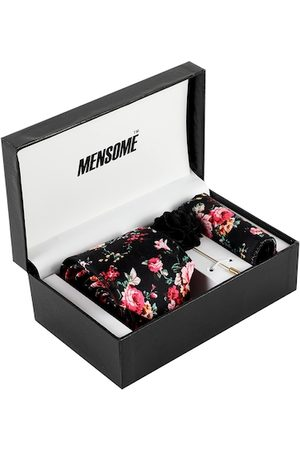 MENSOME Men Black & Pink Accessory Gift Set