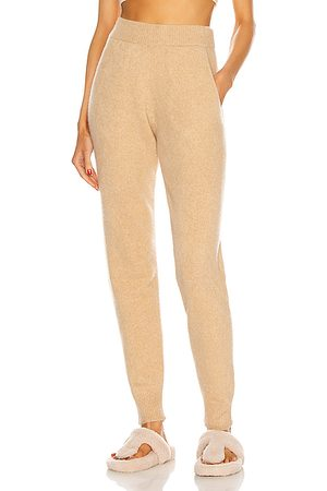 THE ELDER STATESMAN Women Loungewear - Heavy Jogger in Khaki