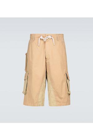 Moncler Genius Men Cargo Trousers - 1 MONCLER JW ANDERSON cargo shorts