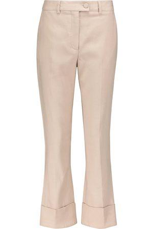 Altuzarra Kiko linen-blend straight pants