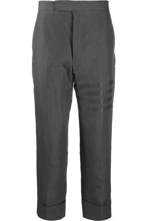 Thom Browne Men Trousers - Fit 1 backstrap trousers