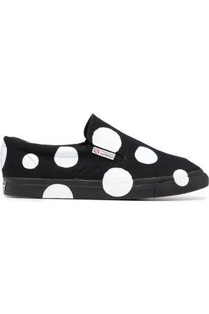 10 CORSO COMO Sneakers - X Superga dot print slip-on sneakers