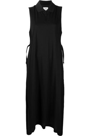 Y-3 Women Casual Dresses - Sleeveless polo shirtdress