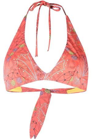 Emilio Pucci Women Bikinis - Conchiglie-print bikini top