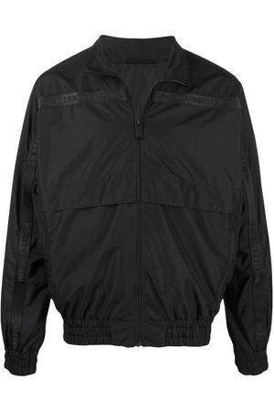 Heron Preston HP spray windbreaker jacket