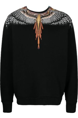 MARCELO BURLON Wings-print sweatshirt