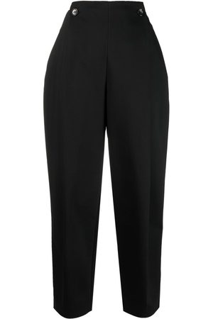 12 STOREEZ High-waisted pleated trousers