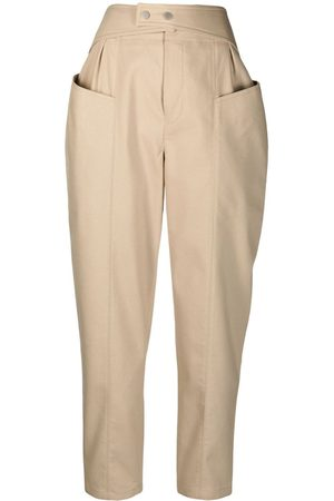 12 STOREEZ High-rise trousers
