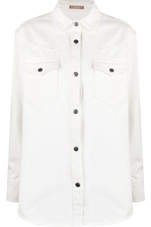 12 STOREEZ Chest-pocket shirt