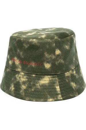 Ruslan Baginskiy Women Hats - Tie-dye print bucket hat