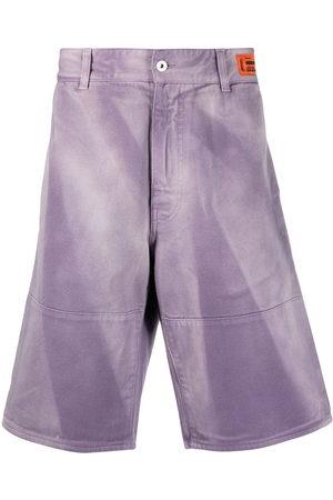Heron Preston Men Bermudas - Faded effect bermuda shorts