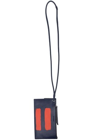 Ports V Wallets - Leather wallet and cardholder necklace