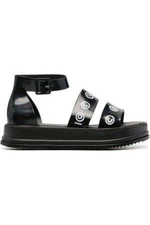 10 CORSO COMO Logo-print chunky sandals