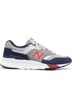 New Balance 997 suede low-top trainers