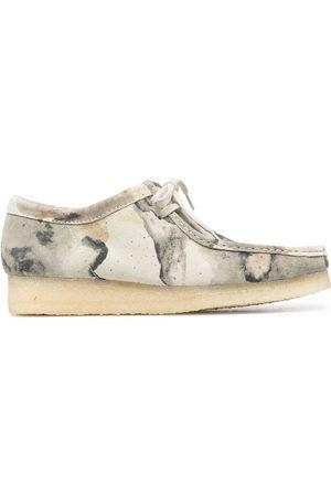 Clarks Men Footwear - Wallabee suede lace-up shoes