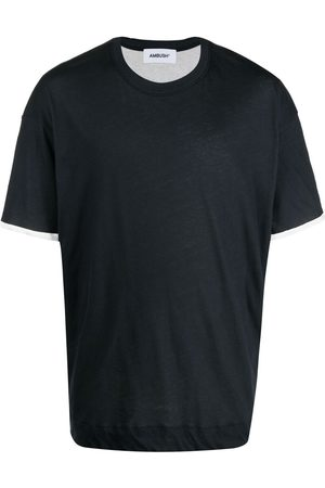 AMBUSH Two-tone short-sleeve T-shirt